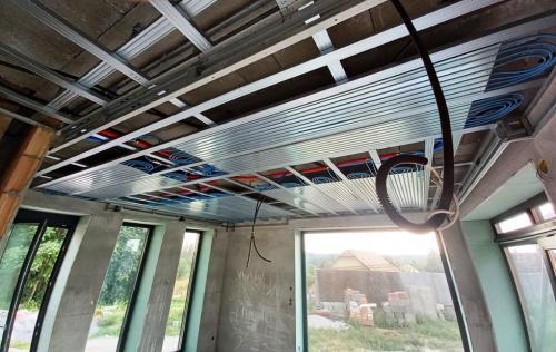 HűtőFűtő mennyezet kialakítás2